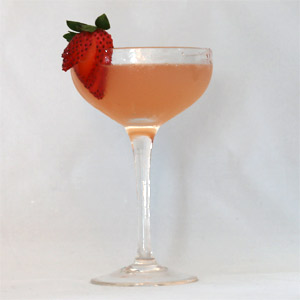 Strawberry Fields Cocktail