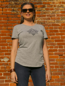 Baton Rouge Distilling Woman Logo Tee