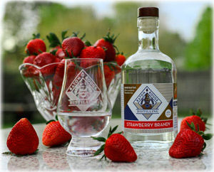 Baton Rouge Distilling's Strawberry Brandy