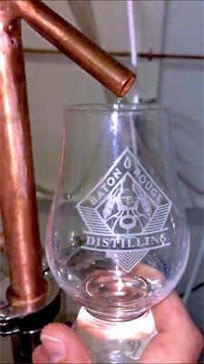 Baton Rouge Distilling - distillery tour