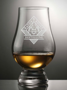Baton Rouge Distilling Glencairn Glass